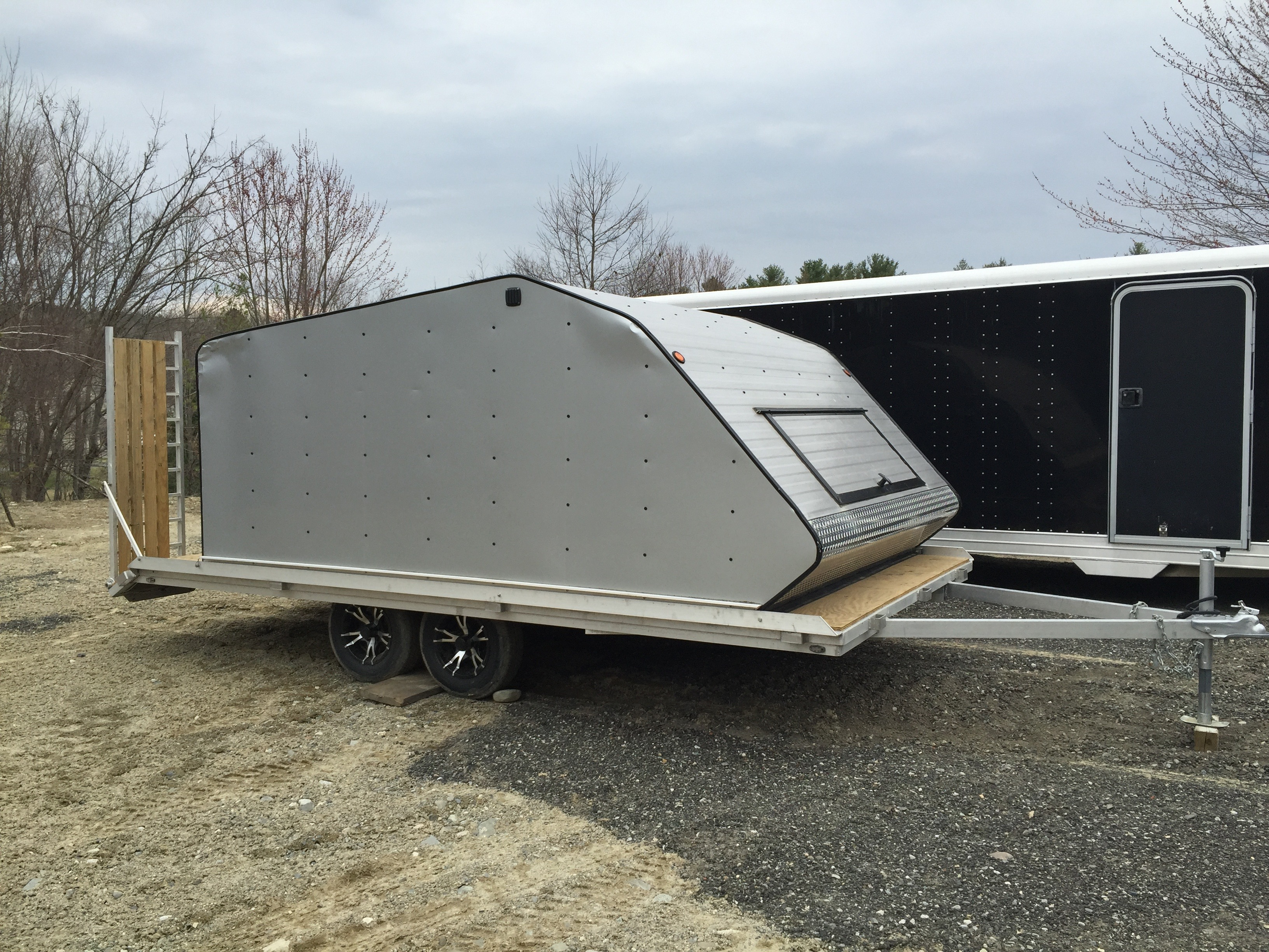 Custom Aluminum Snowmobile/ATV/Utility Trailer Image